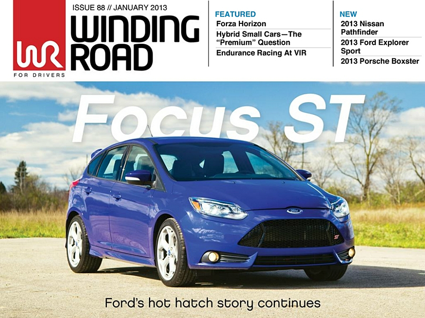Focus ST Issue 88 // January 2013