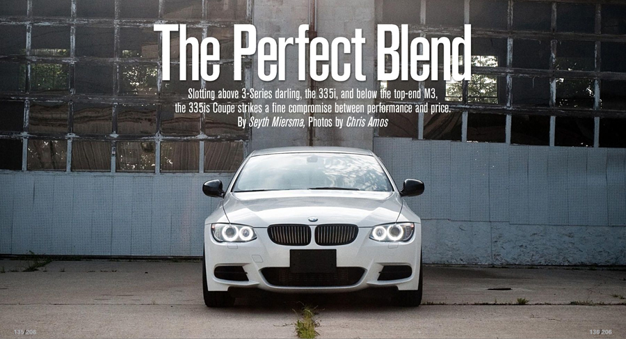 BMW 335is Spread in Winding Road Magazine Issue 61 // October 2010
