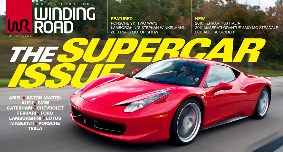 The Supercar Issue Issue 63 // December 2010